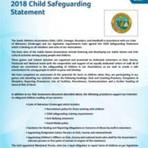 Ballyholland Harps Child Safeguarding Statement